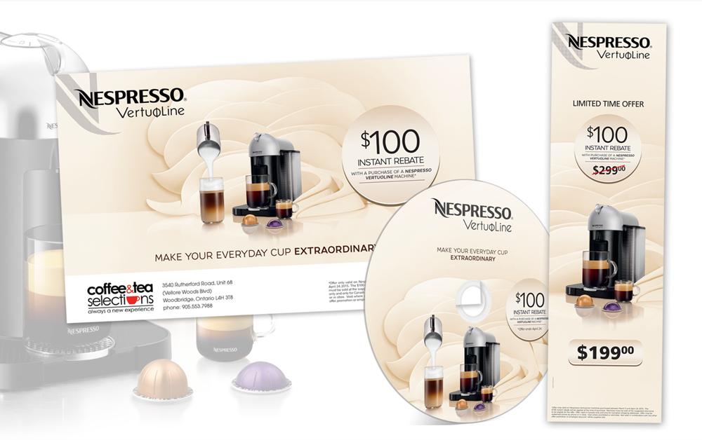 Graphisme Nespresso