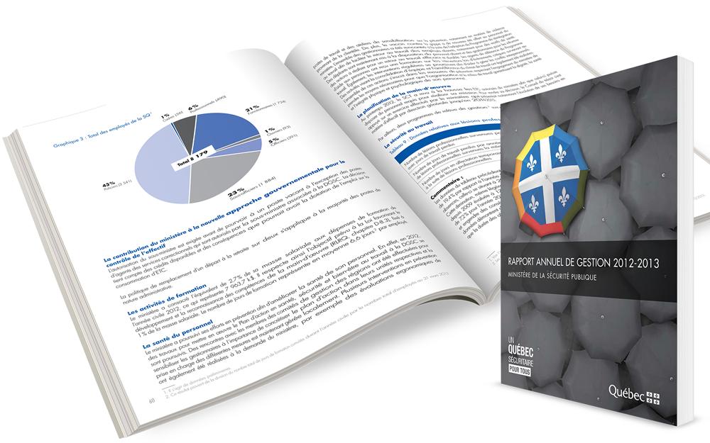 Rapport Annuel Gestion Ministere Securite Publique