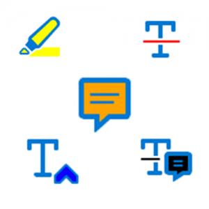 Outils pour annoter un PDF