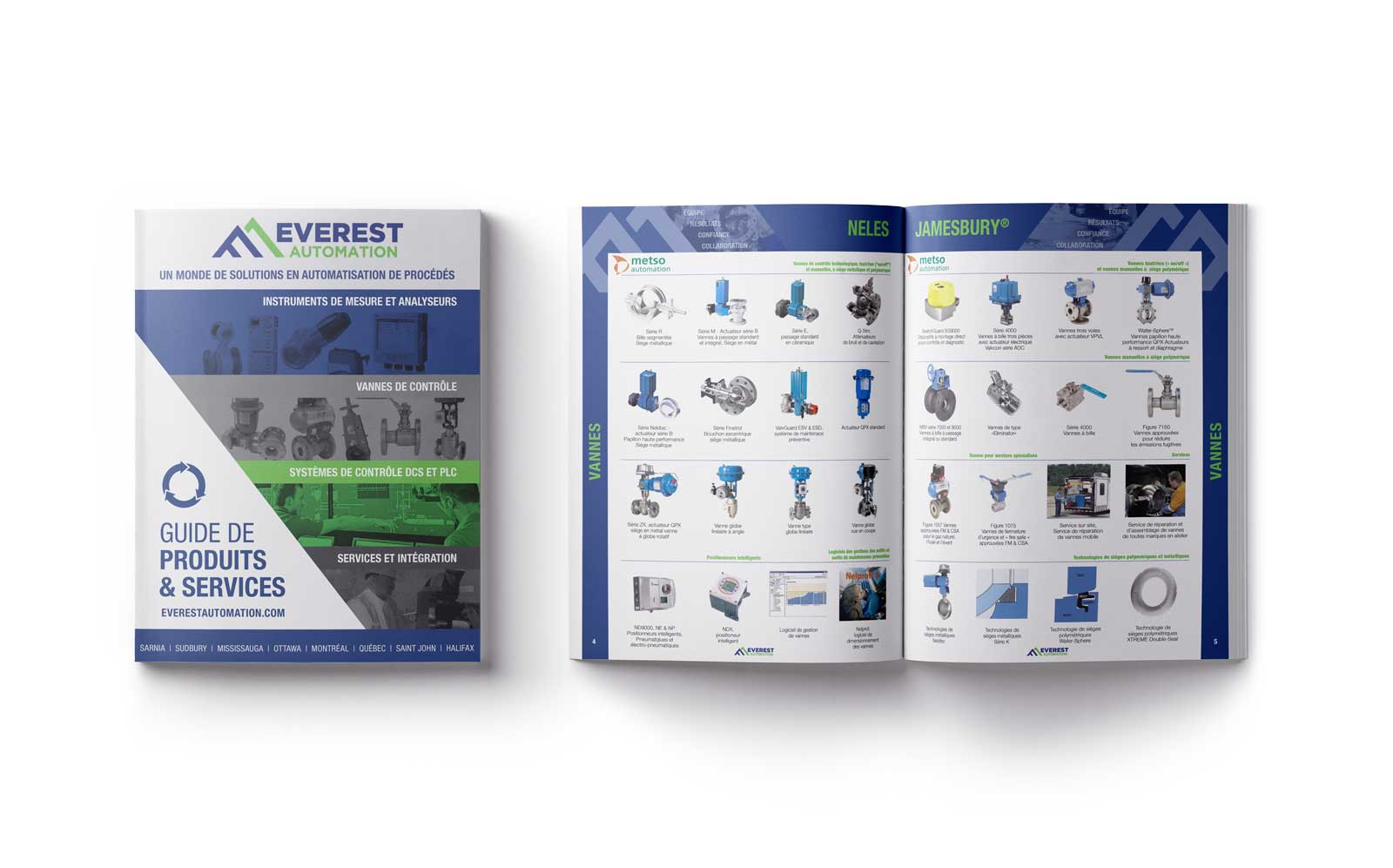 Catalogue Everest