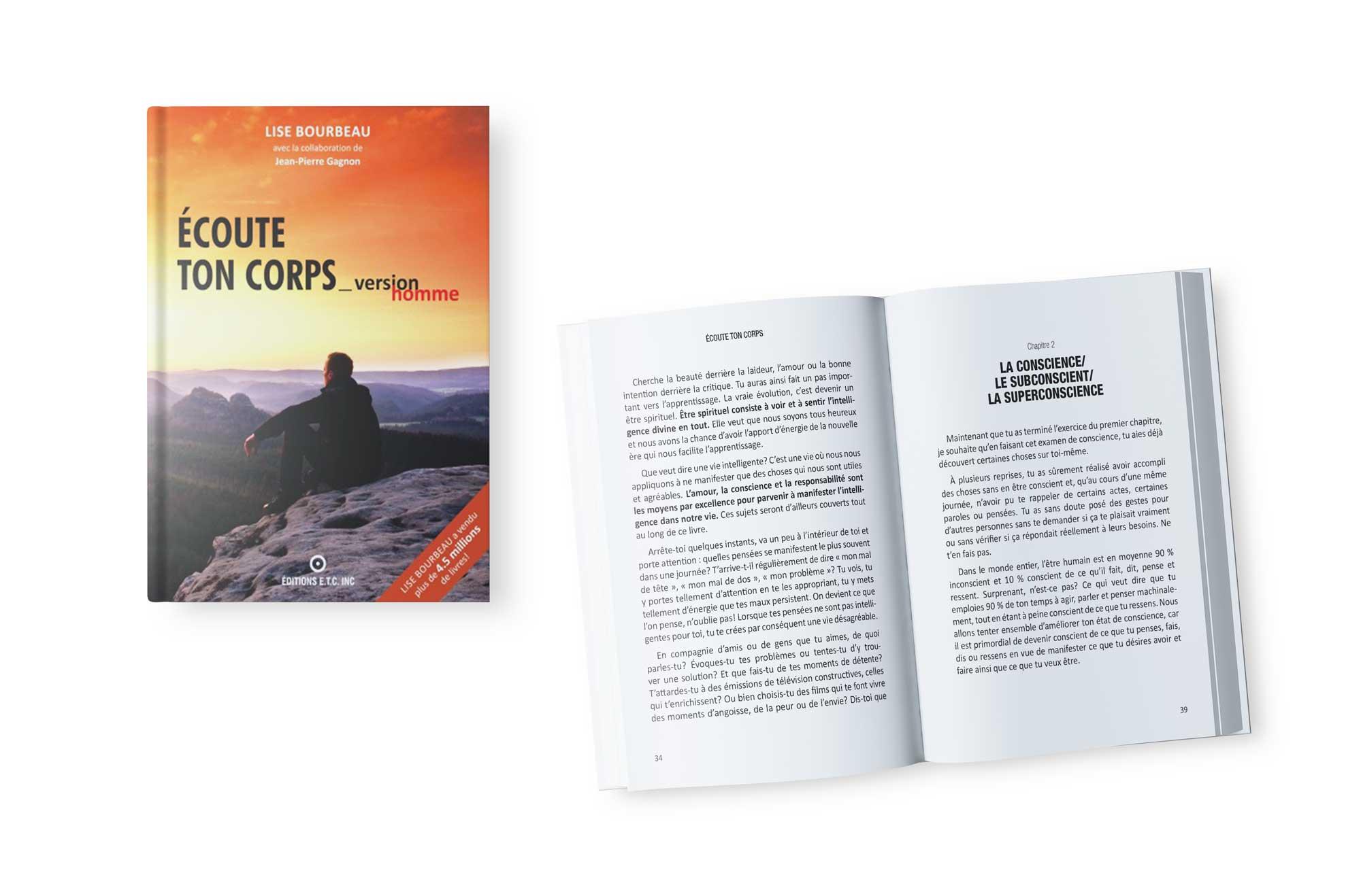 Mise en page livres ETC