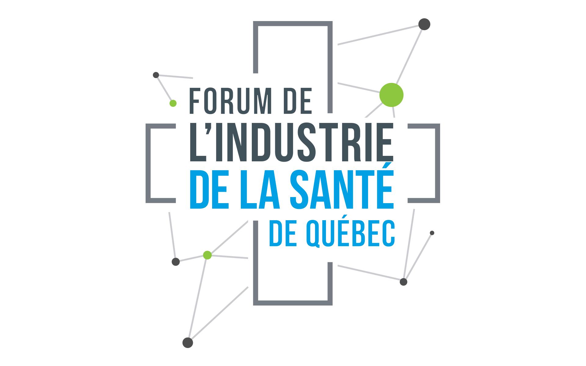 Logo Forum Industrie de la santé de Québec