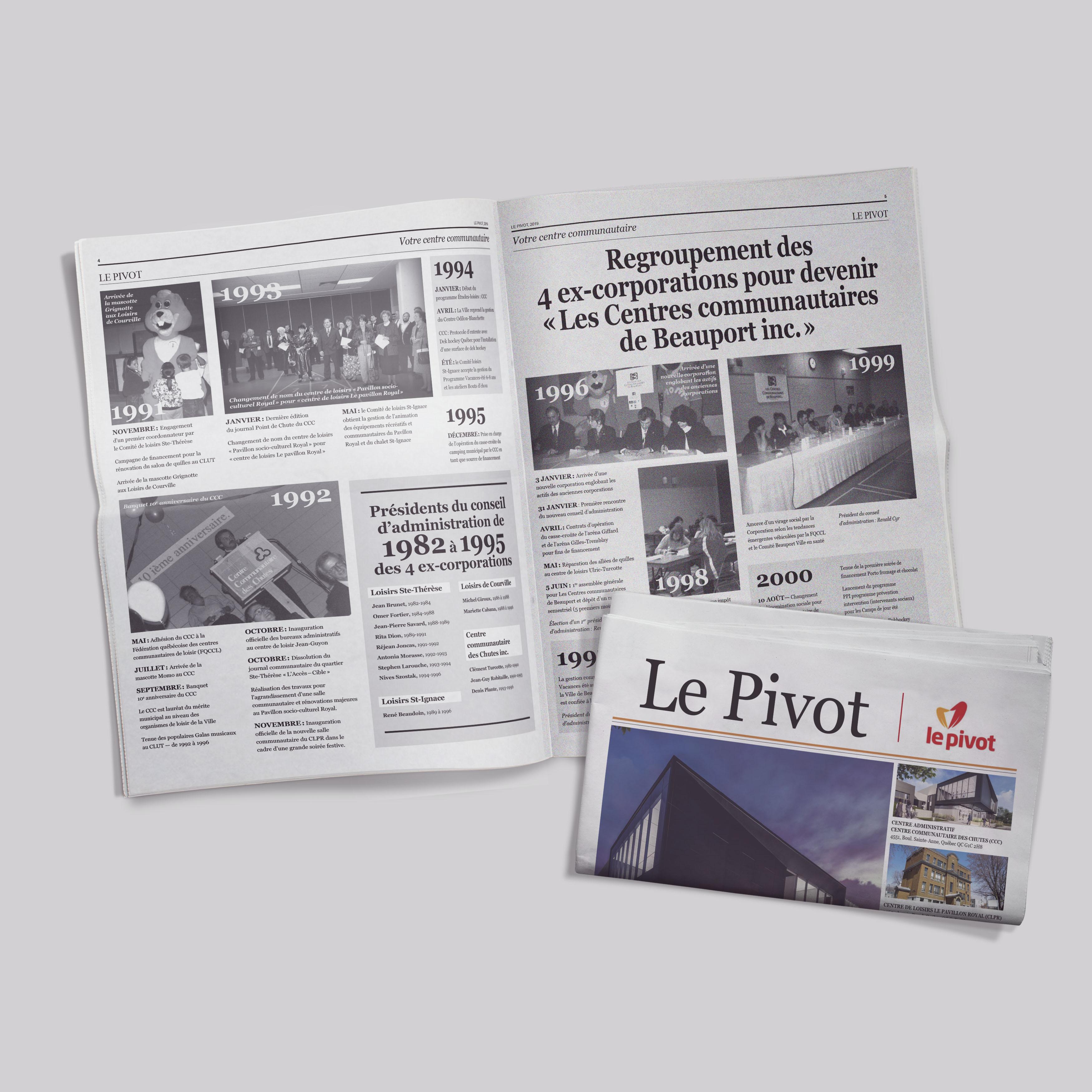 Pivot Cahier Histoire 2019
