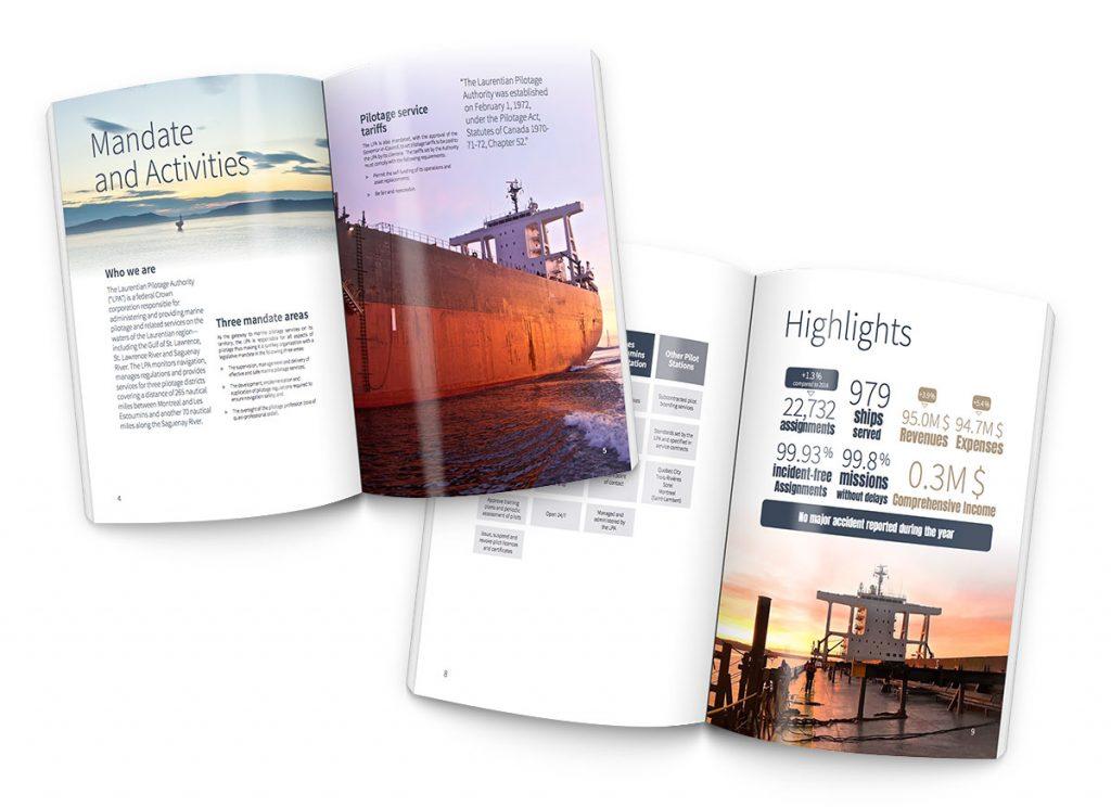 Rapport annuel sur administration de pilotage des Laurentides
