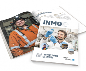 Rapport Annuel: Institut national des mines du Québec